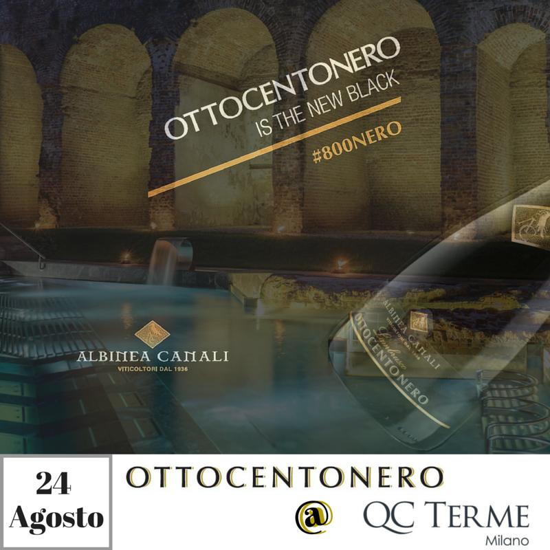 Aperitivo Ottocentonero QC Terme Milano
