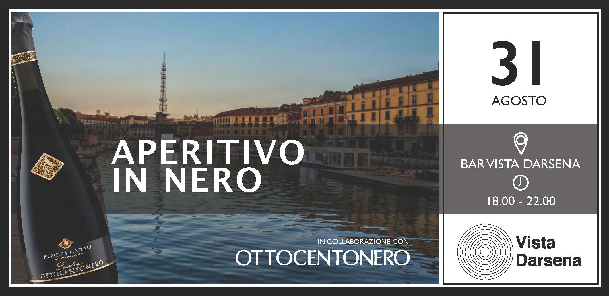 Aperitivo in Nero Milano