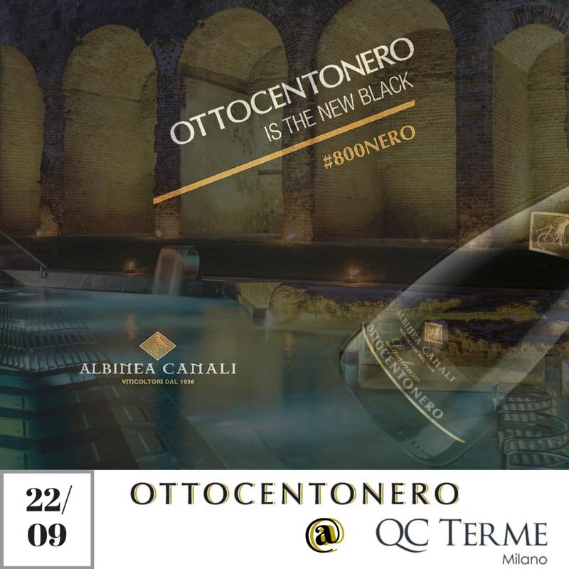 Aperitivo Ottocentonero Terme Milano